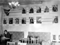 Районная библиотека, читальный зал 1960-е годы