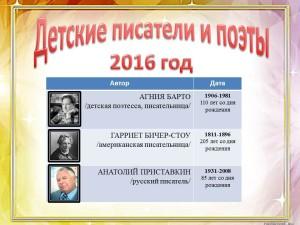 Юбиляры-2016