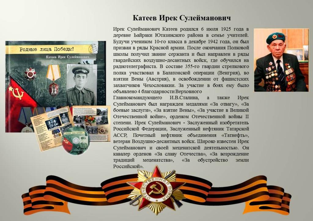 Катеев Ирек Сулейманович